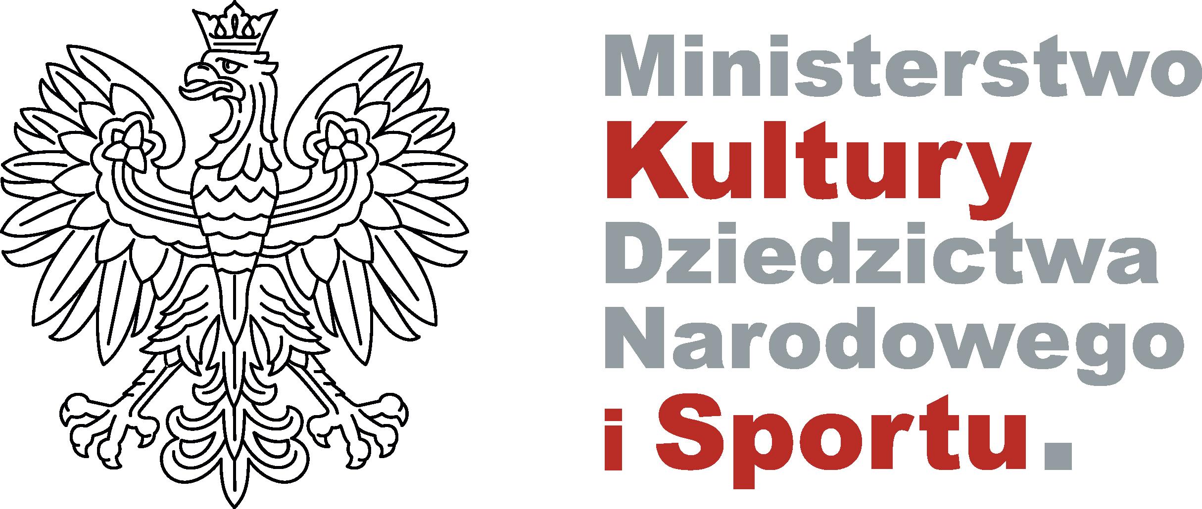 Logotypy - Ministerstwo Kultury, Dziedzictwa Narodowego i Sportu - Portal  Gov.pl
