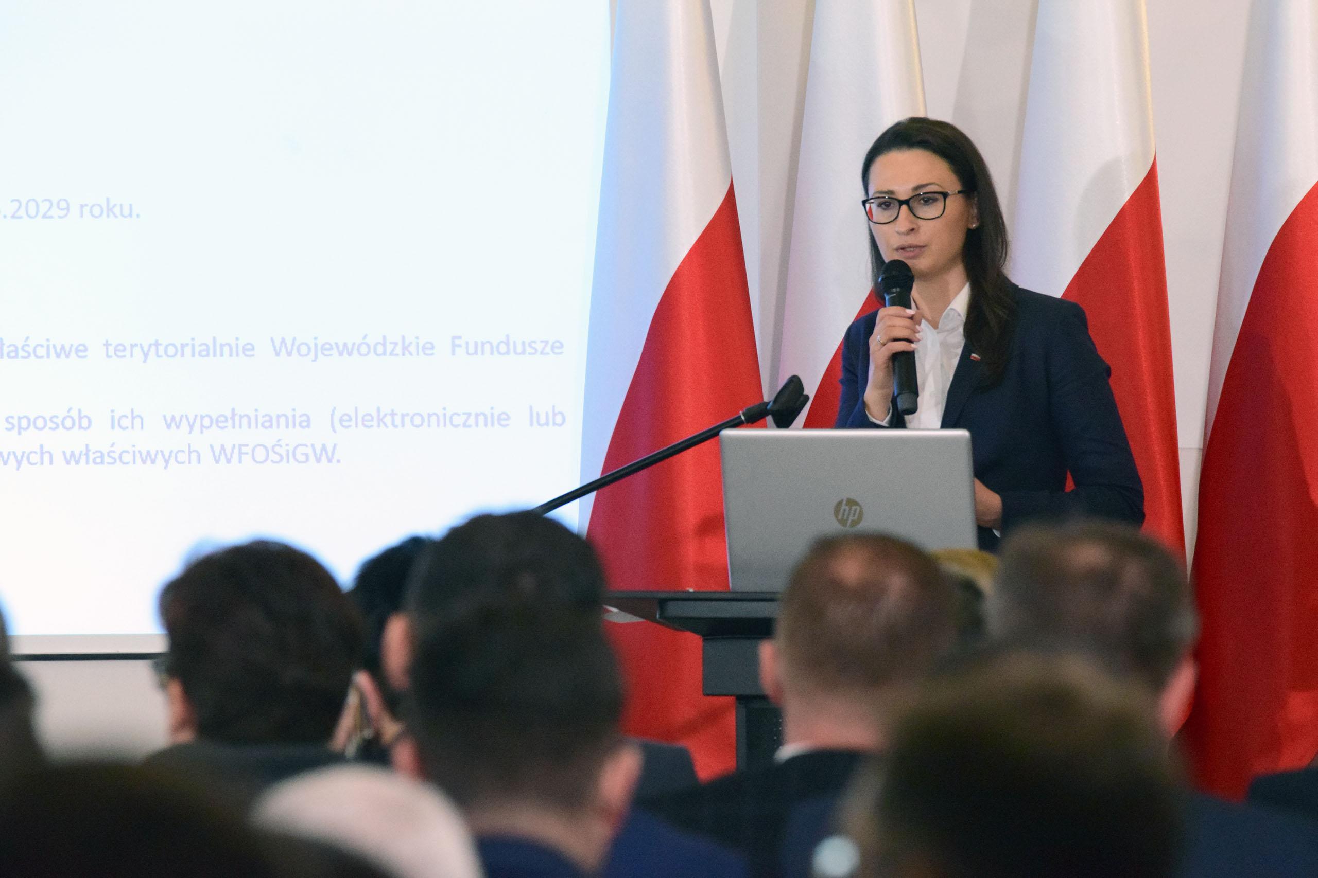 Wiceminister Małgorzata Golińska