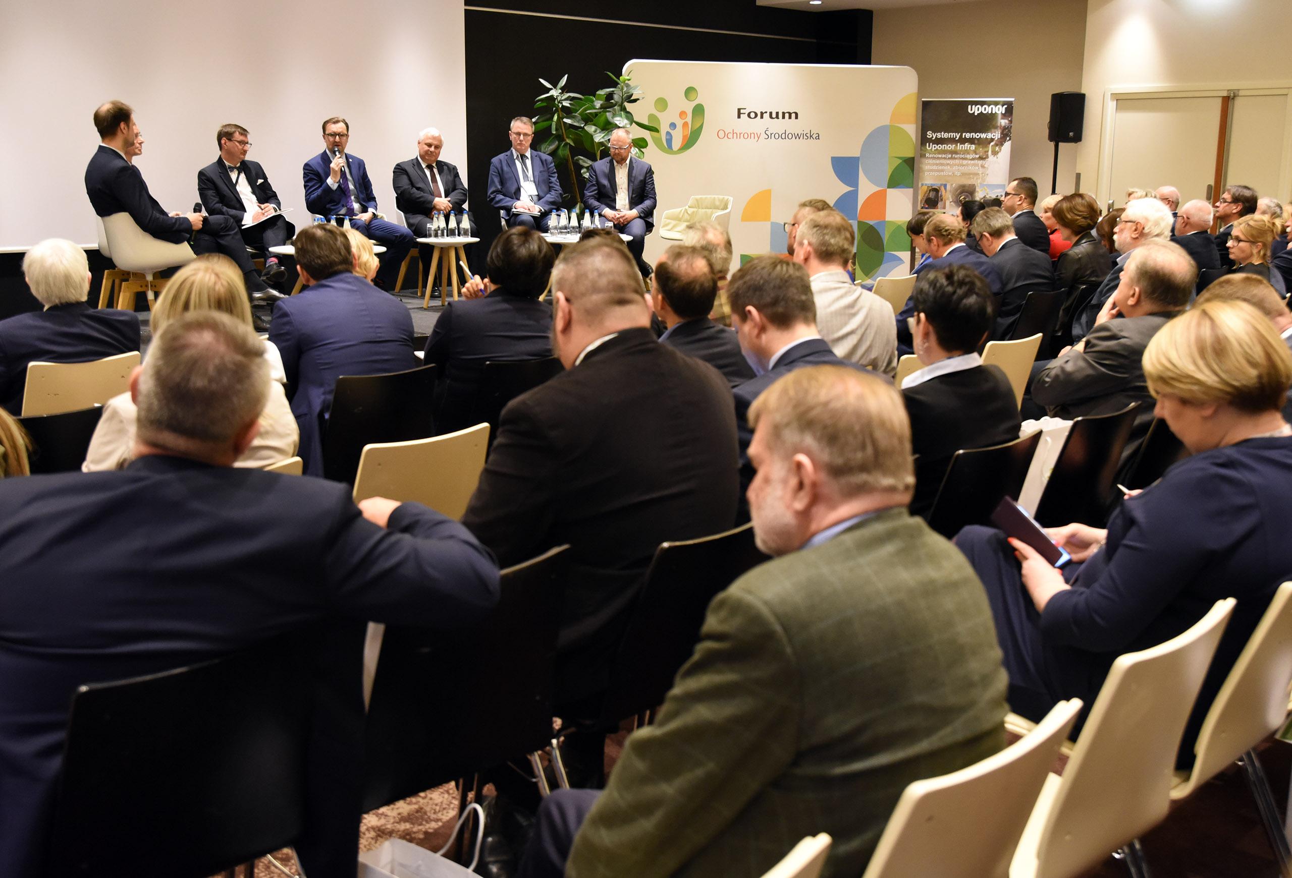 V Forum Ochrony Środowiska z udziałem wiceministra Sławomira Mazurka