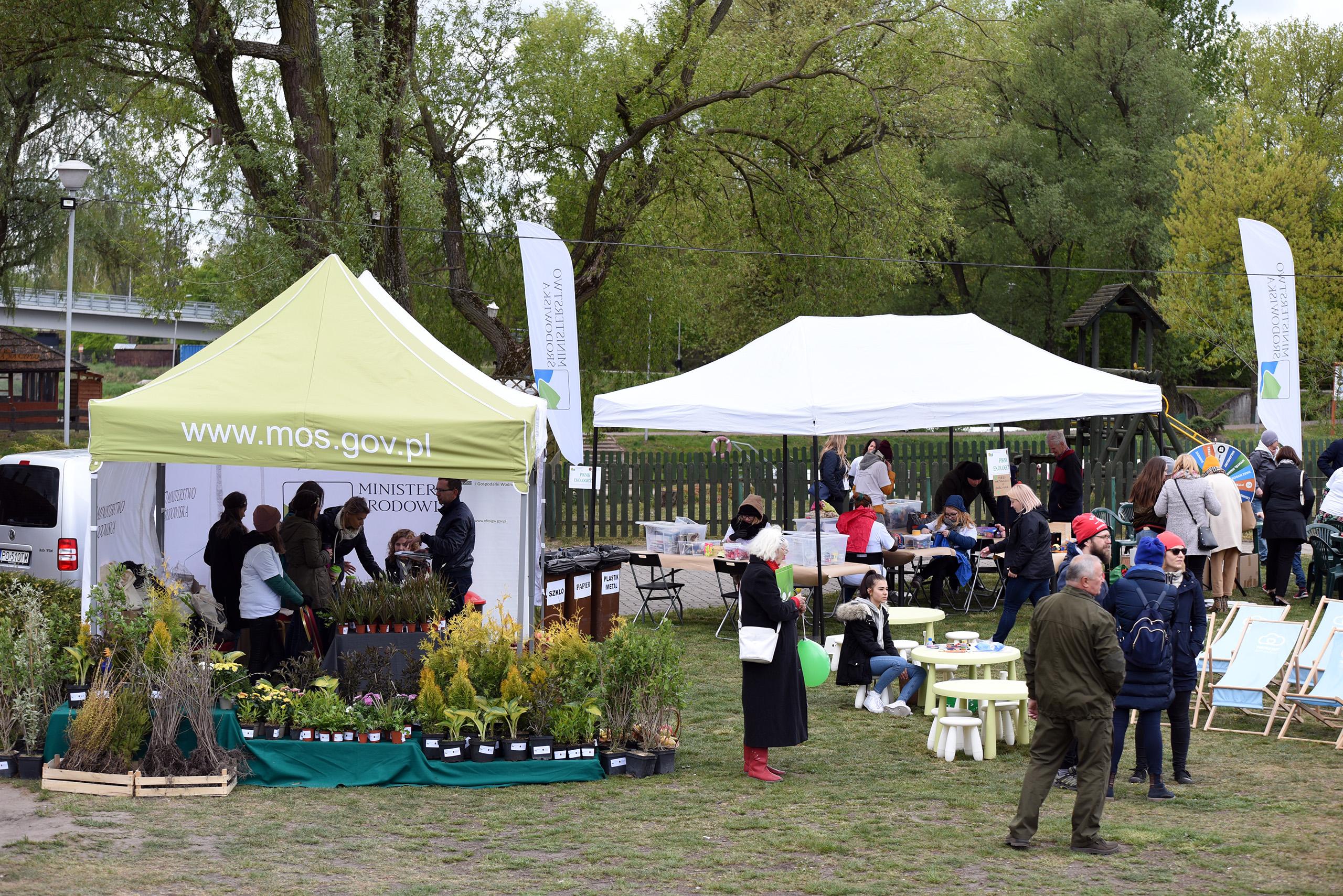 Piknik ekologiczny w Pułtusku
