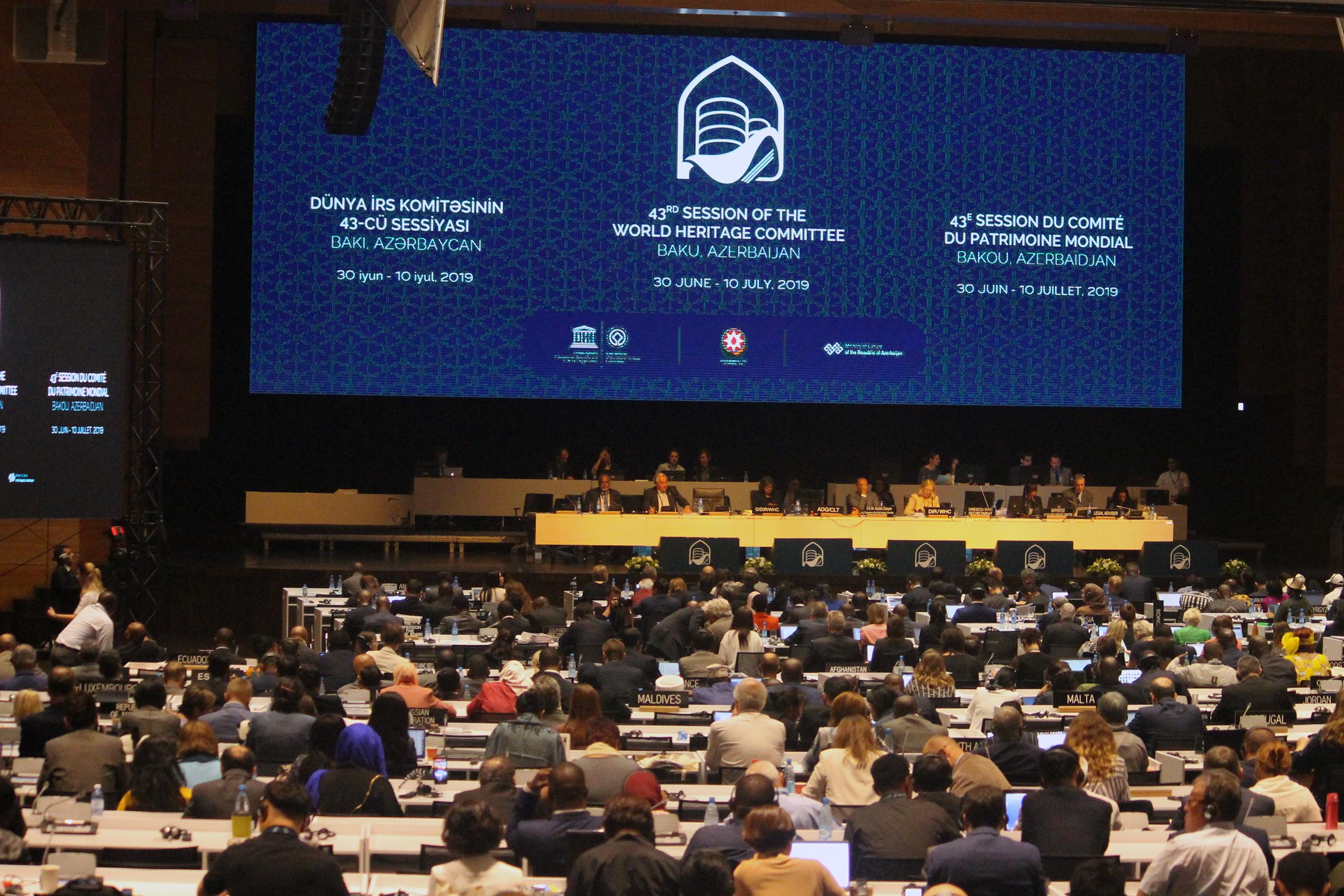 43 sesja UNESCO w Baku