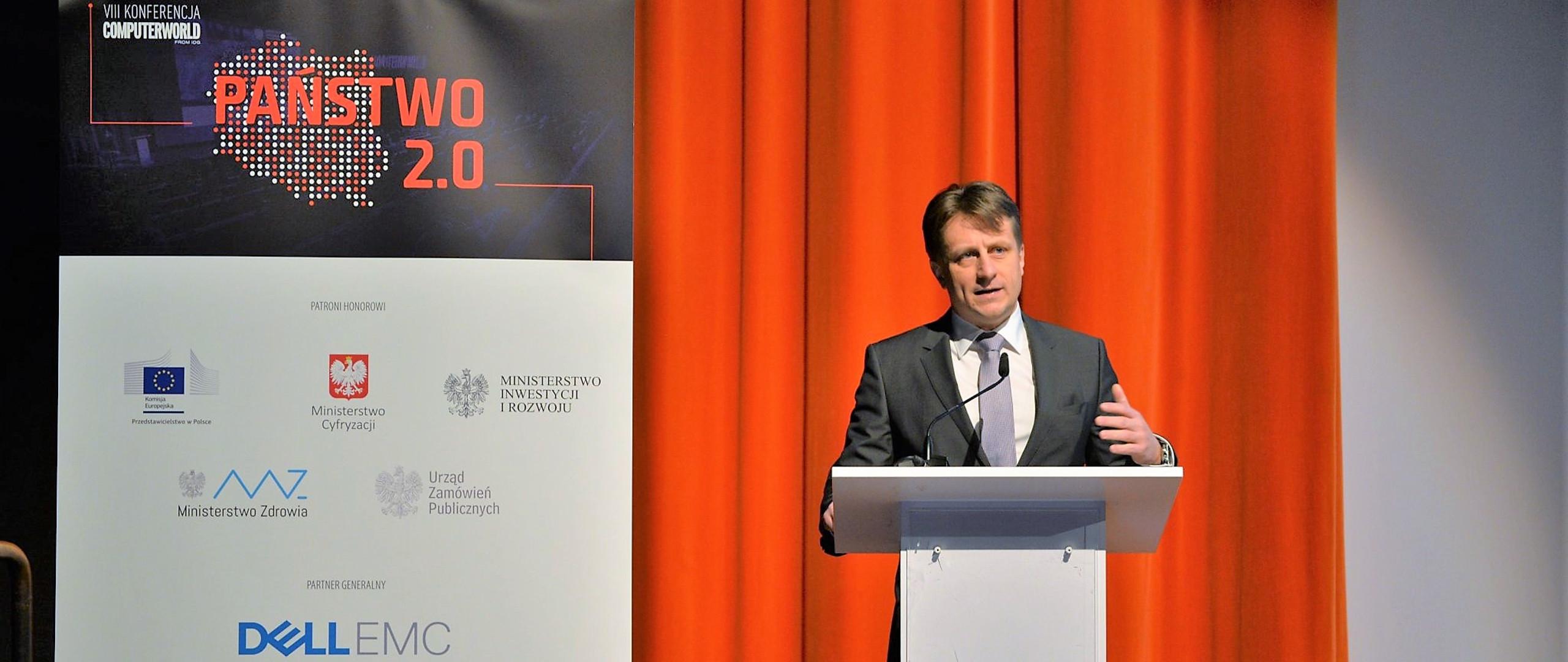Krzysztof Szubert na Konferencji Państwo 2.0.