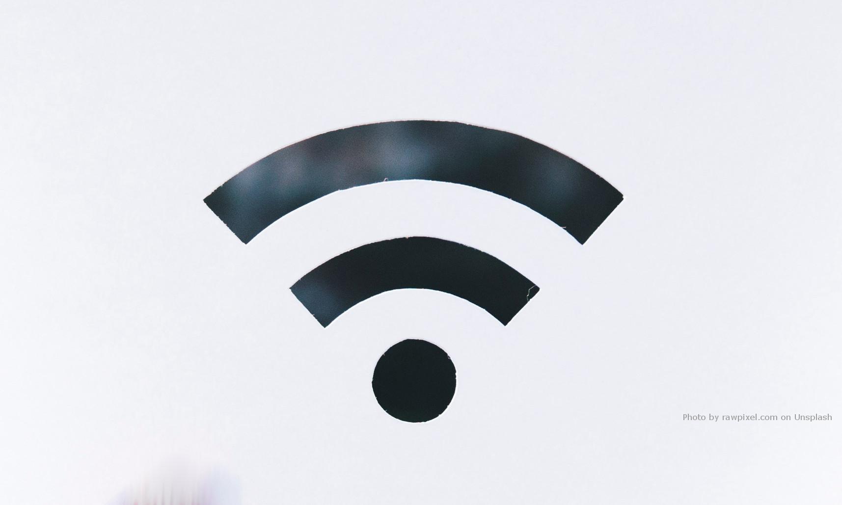 Symbol WiFi - ilustracja