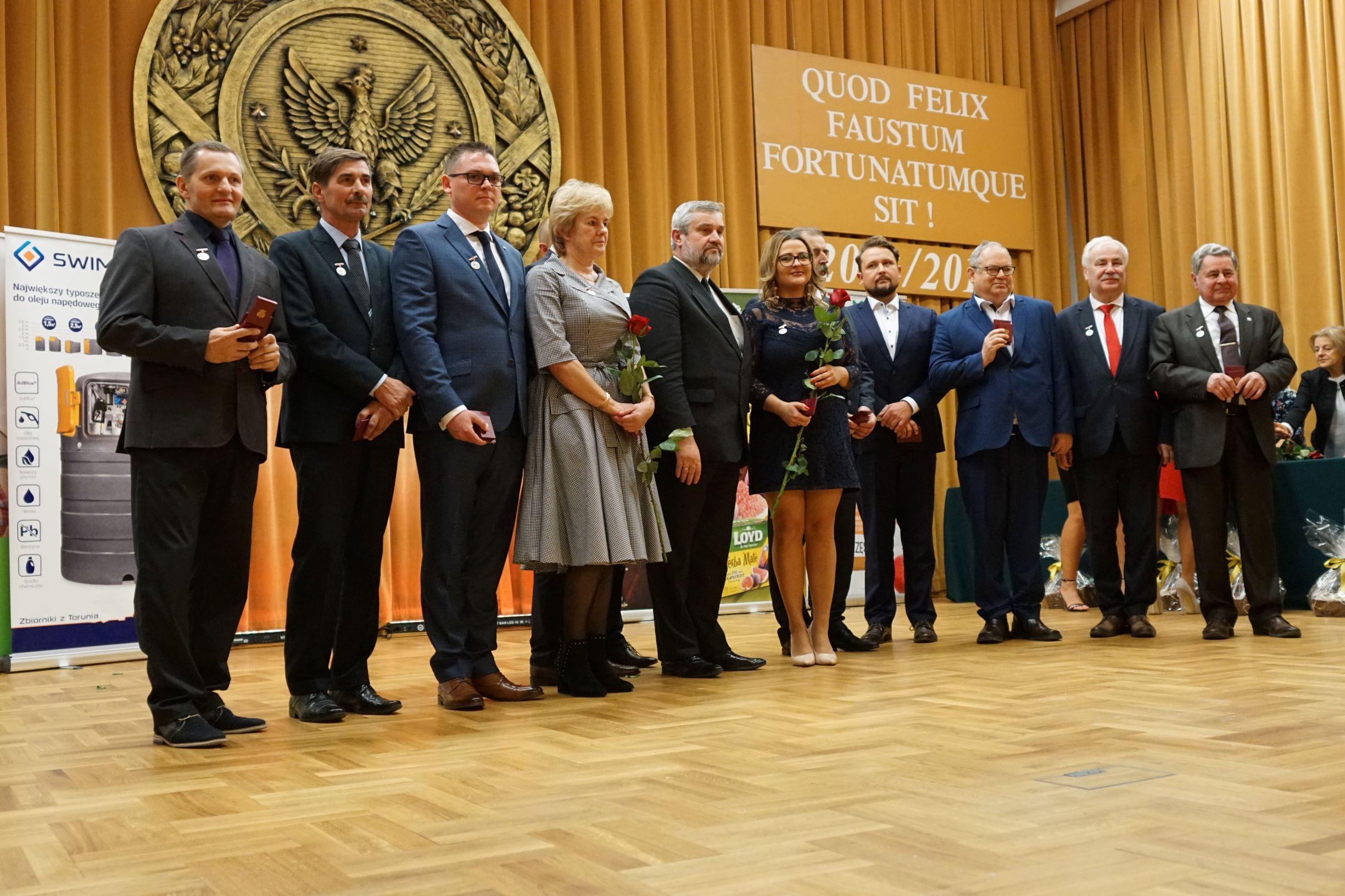 Minister z laureatami