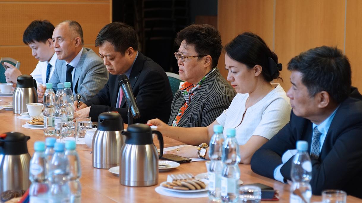 Delegacja z Chin z wizytą w Ministerstwie Rolnictwa