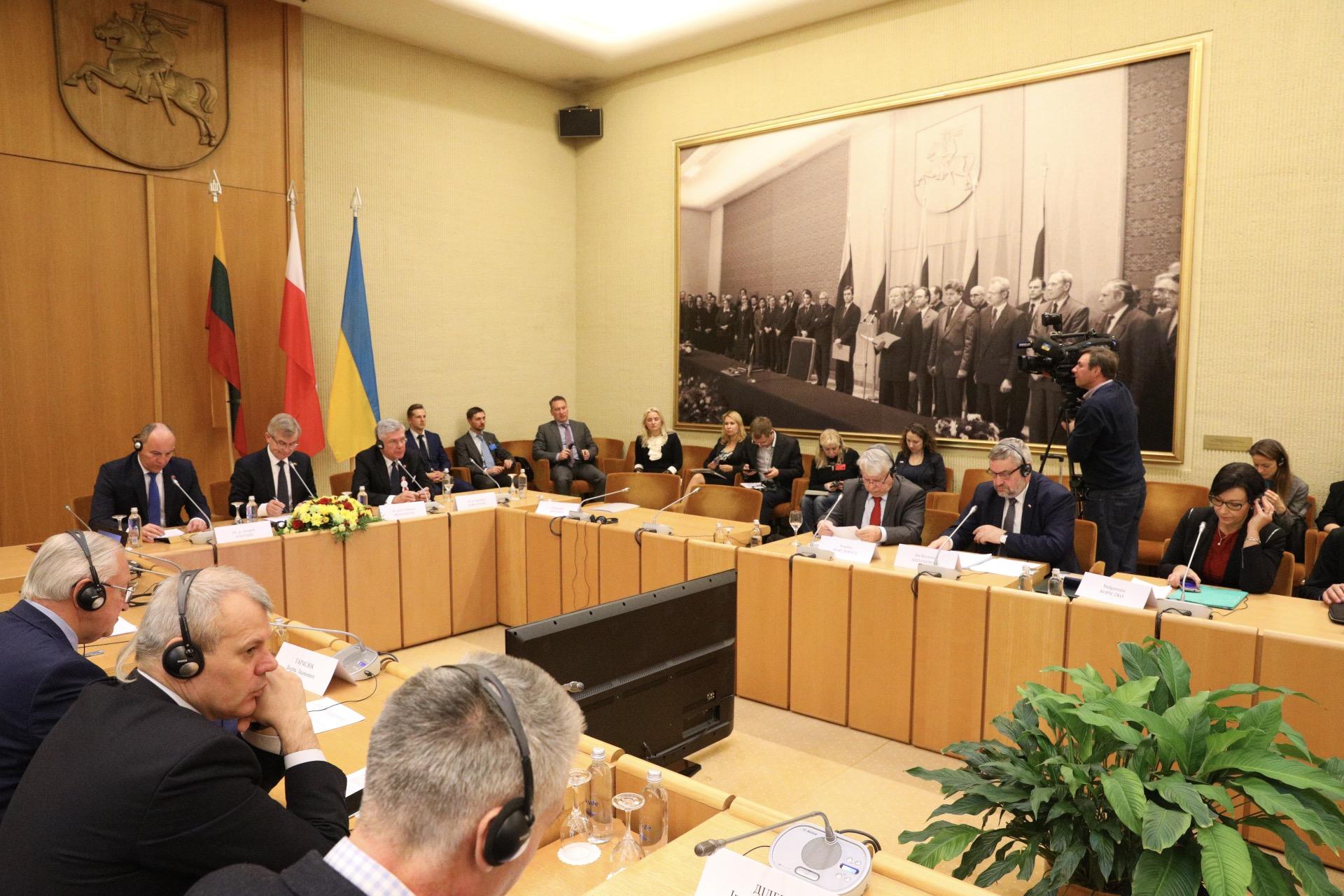 IX sesja Zgromadzenia Parlamentarnego Polski, Litwy i Ukrainy