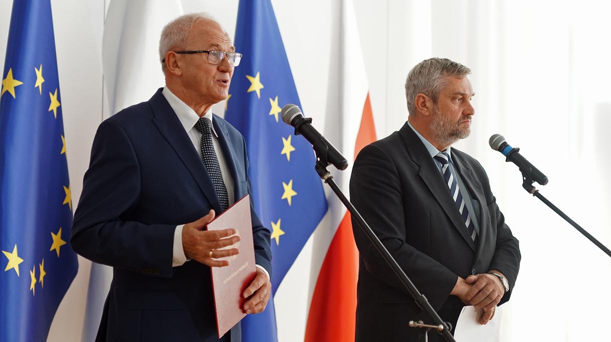 Konferencja Prasowa Ministra Ardanowskiego i Ministra Energii Krzysztofa Tchórzewskiego