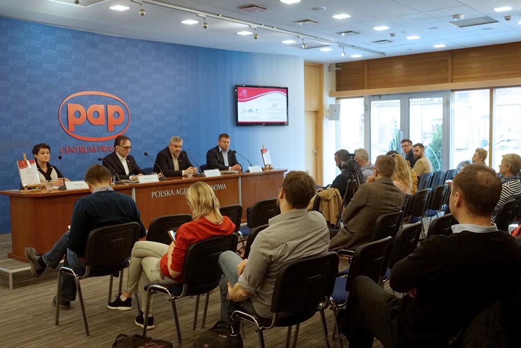 Konferencja prasowa zapowiadająca Pride of Poland