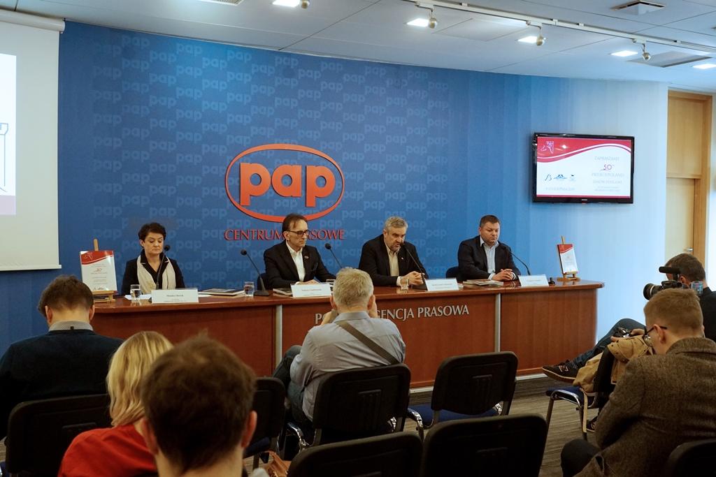 Konferencja prasowa zapowiadająca tegoroczną edycję Pride of Poland