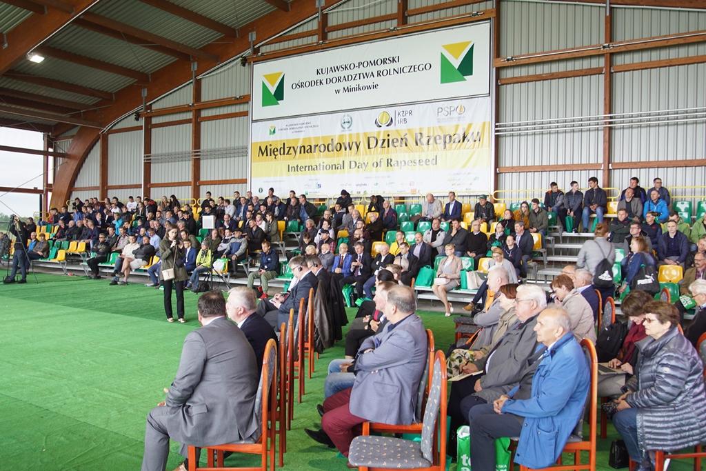 Międzynarodowe Dni Rzepaku w Ośrodku Doradztwa Rolniczego w Minikowie