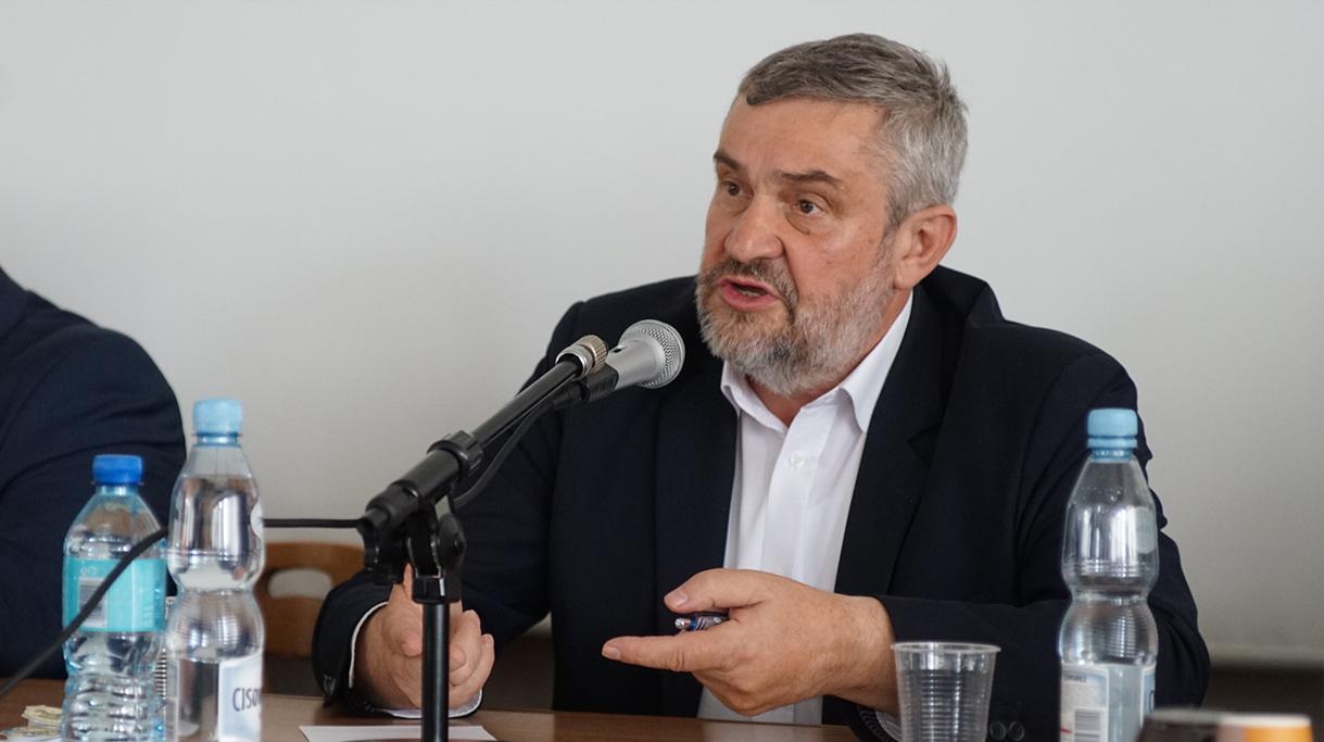 Min. J.K. Ardanowski podczas wystąpienia
