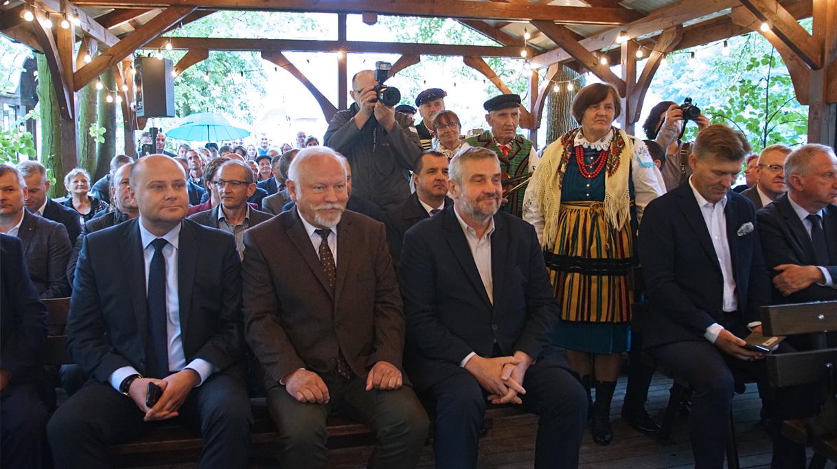 Minister Ardanowski na spotkaniu inaugurującym kampanię
