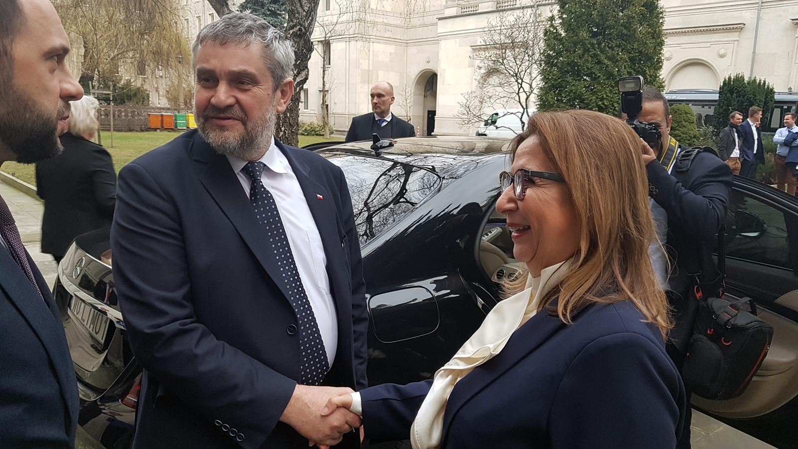 Minister J. K. Ardanowski oraz minister handlu Republiki Turcji Ruhsar Pekcan