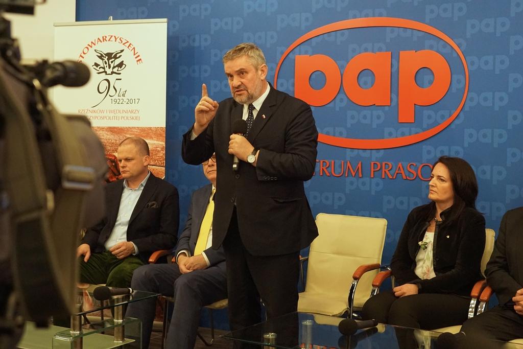 Minister Jan Krzysztof Ardanowski