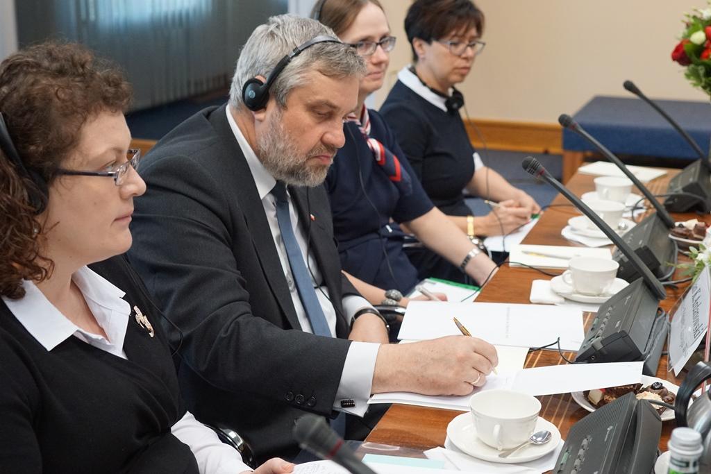 Minister Jan Krzysztof Ardanowski na czele polskiej delegacji