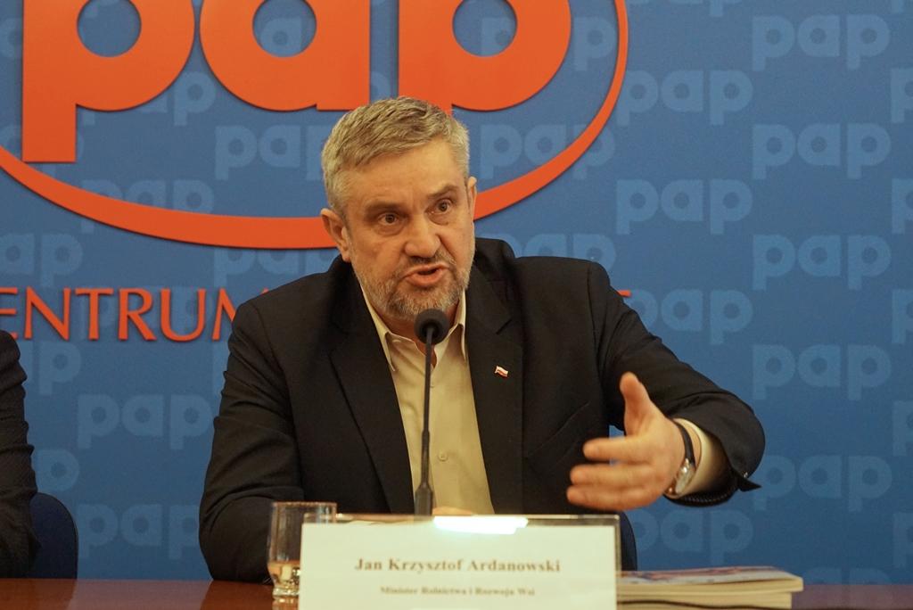 Minister rolnictwa J. K. Ardanowski