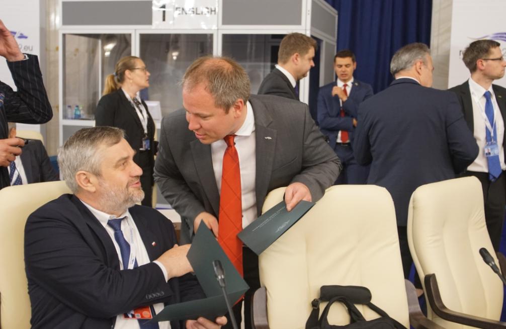 Minister rolnictwa rolnictwa Polski oraz minister rolnictwa Litwy