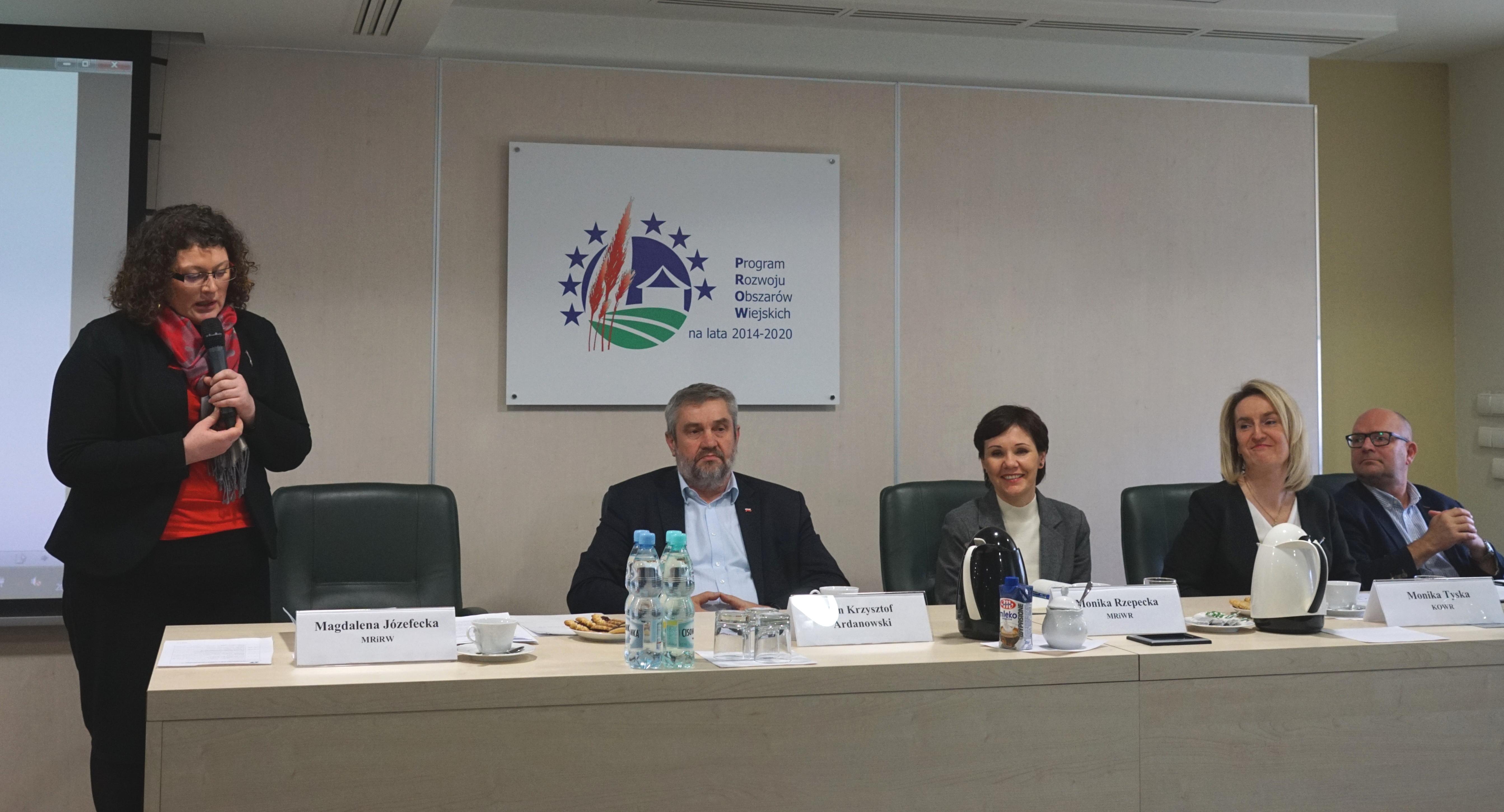 Otwarcie spotkania z przedstawicielami Zagranicznych Biur Handlowych