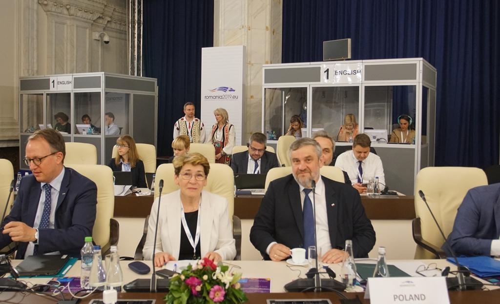 Polska delegacja na czele z ministrem rolnictwa J.K. Ardanowskim
