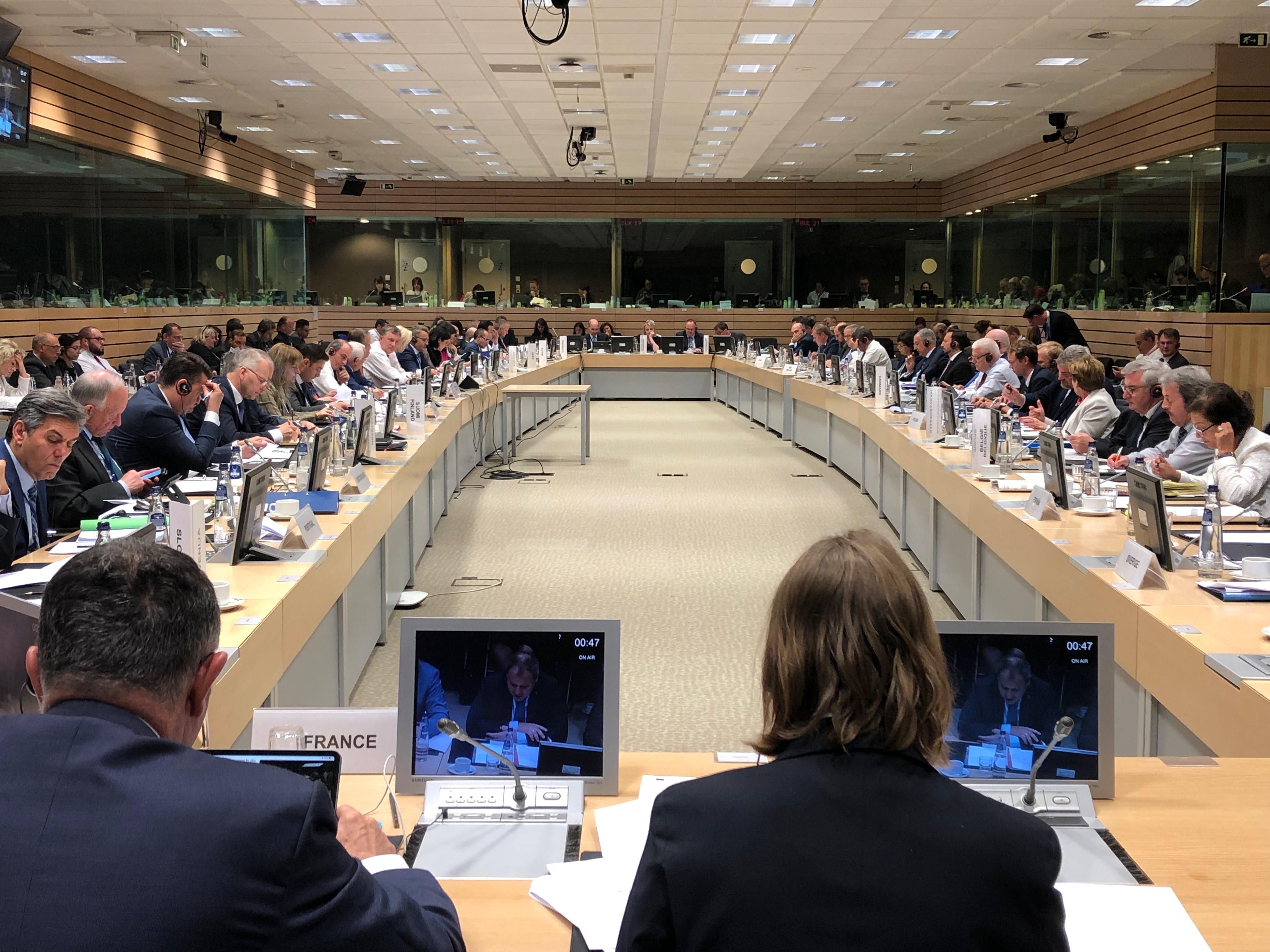 Posiedzeniu Rady Ministrów ds. rolnictwa UE
