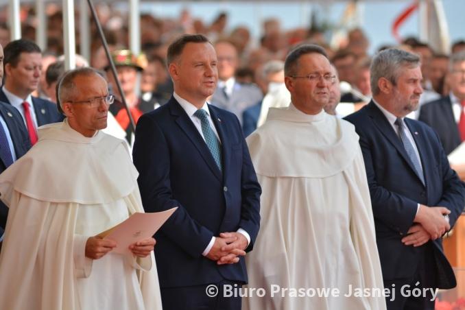 Prezydent A. Duda wraz ministrem J. K. Ardanowskim