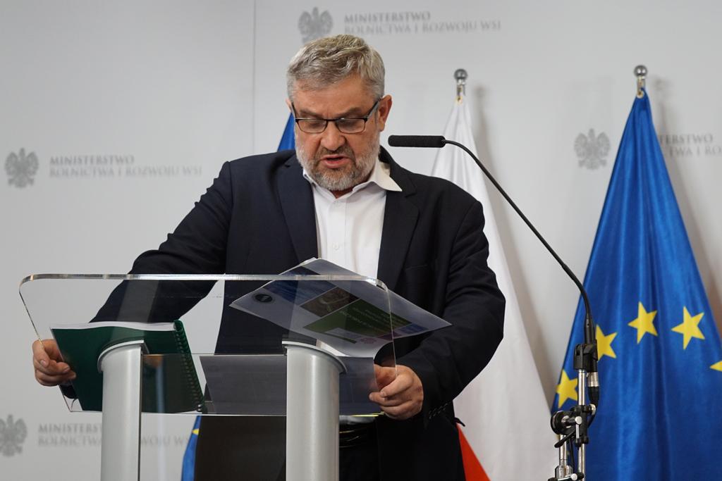 Przemówienie ministra Jana Krzysztofa Ardanowskiego