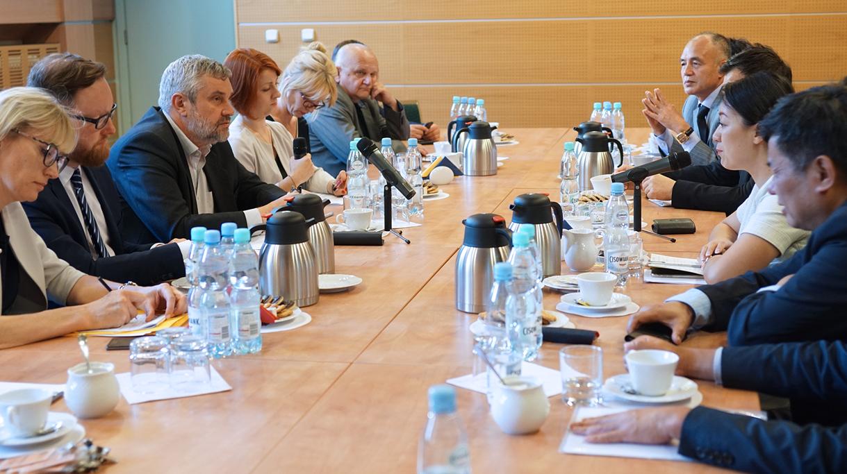 Spotkanie Ministra Ardanowskiego z delegacją chińską