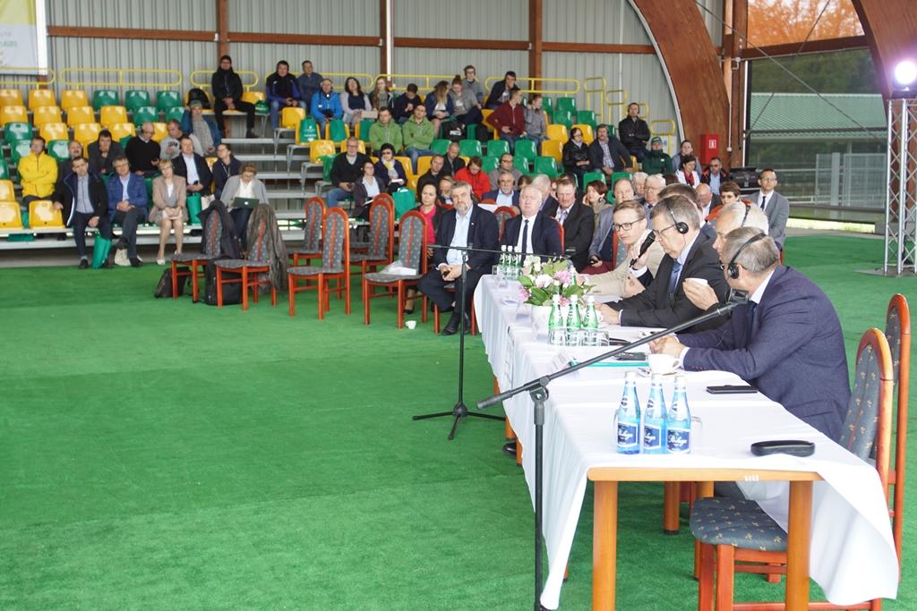 Spotkanie w Ośrodku Doradztwa Rolniczego w Minikowie
