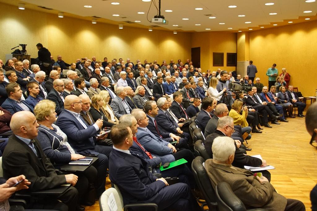Uczestnicy Wielkopolskiego Forum Rolniczego