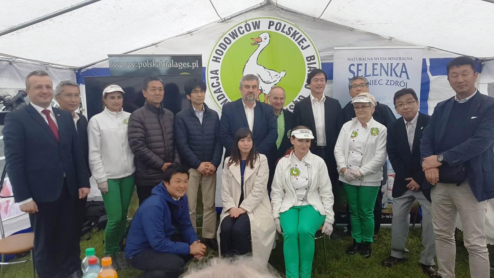 Uczestnicy polsko-japońskiego spotkania