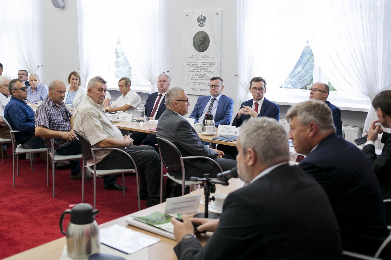 Uczestnicy posiedzenia Zespołu Doradczego ds. Wsi i Rolnictwa