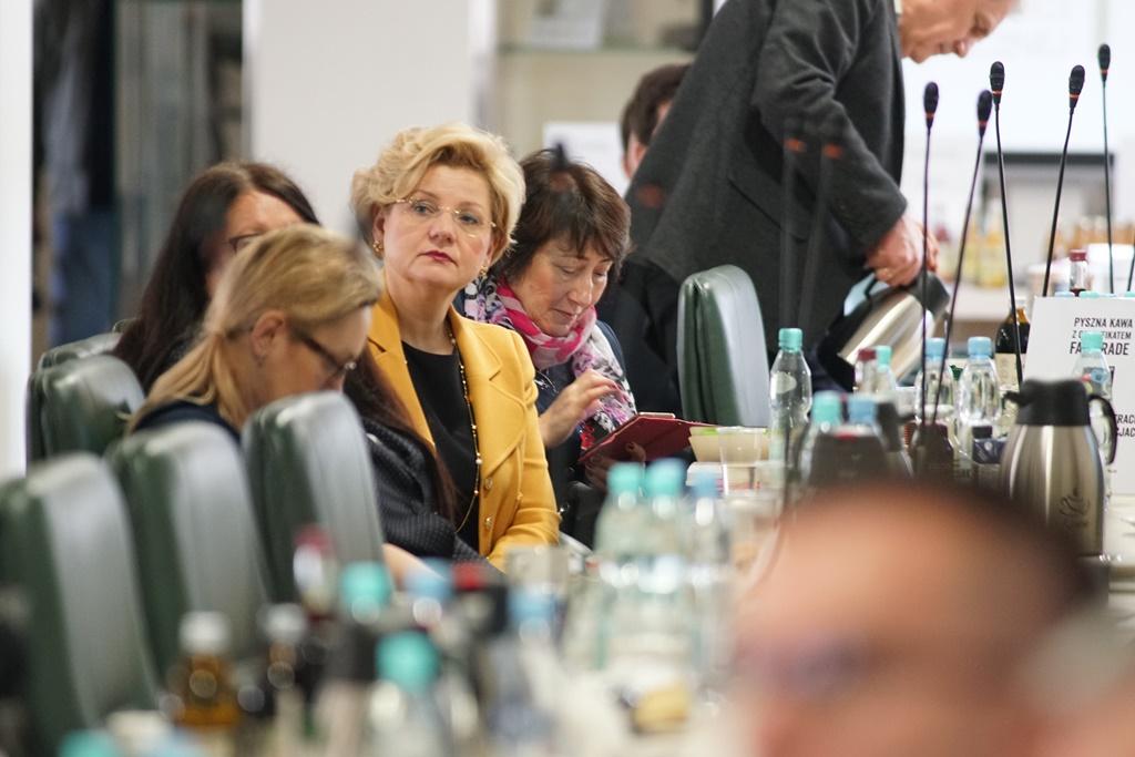 Uczestnicy spotkania w MRiRW