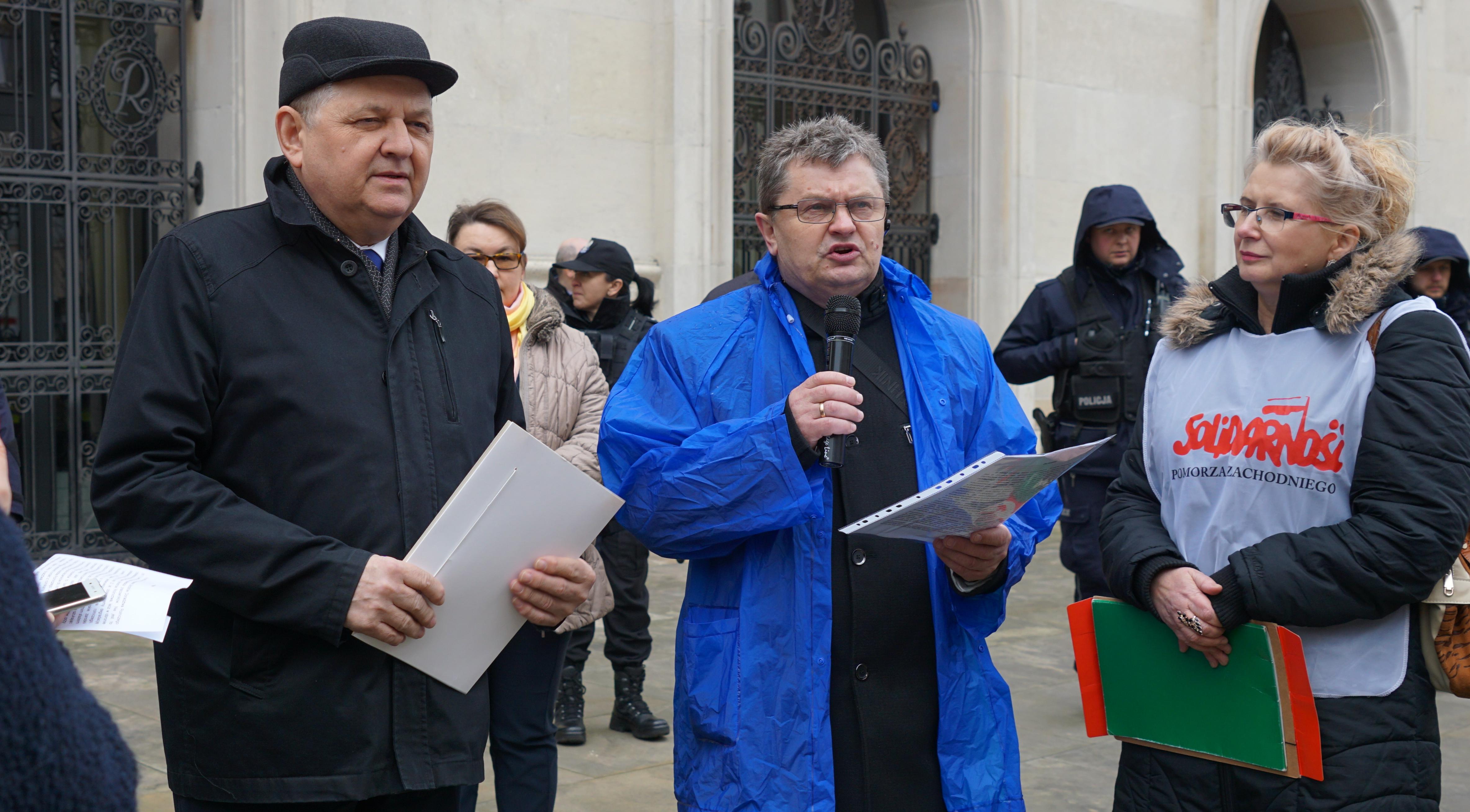 Wiceminister rolnictwa R. Zarudzki przyjął listę postulatów ODR