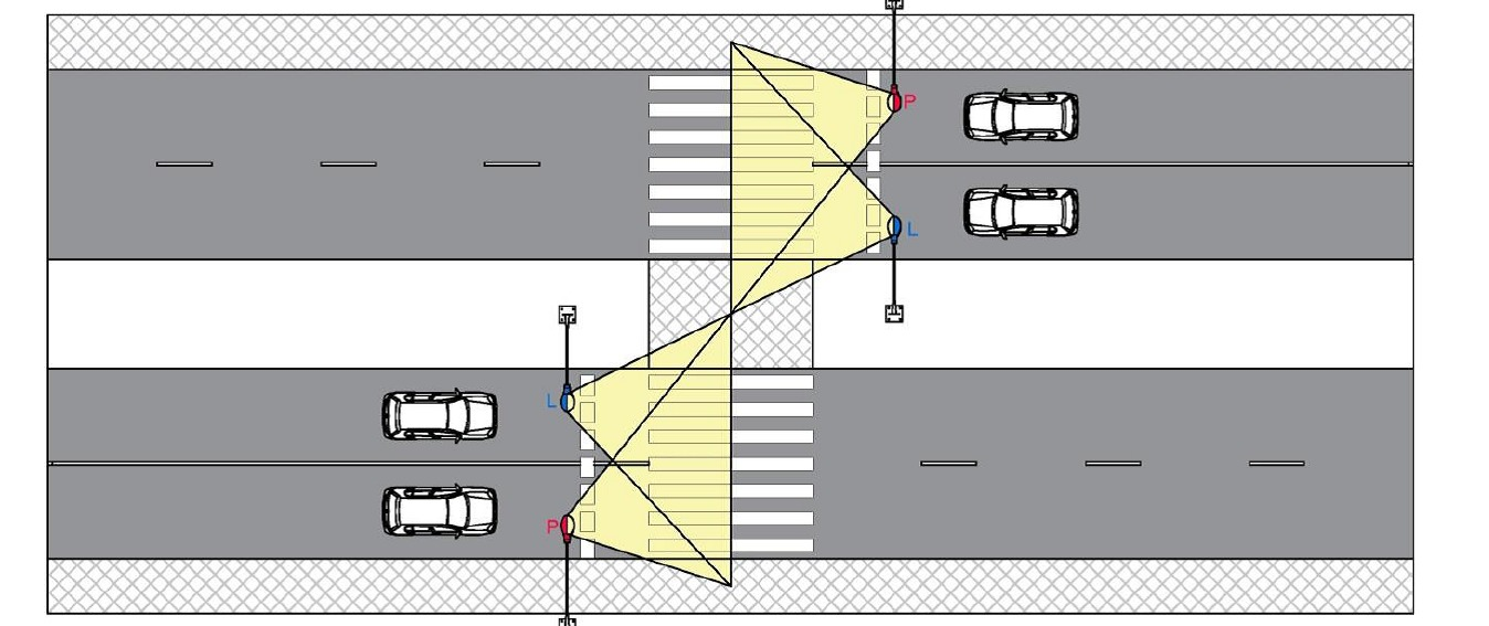 Wytyczne prawidłowego oświetlenia przejść dla pieszych