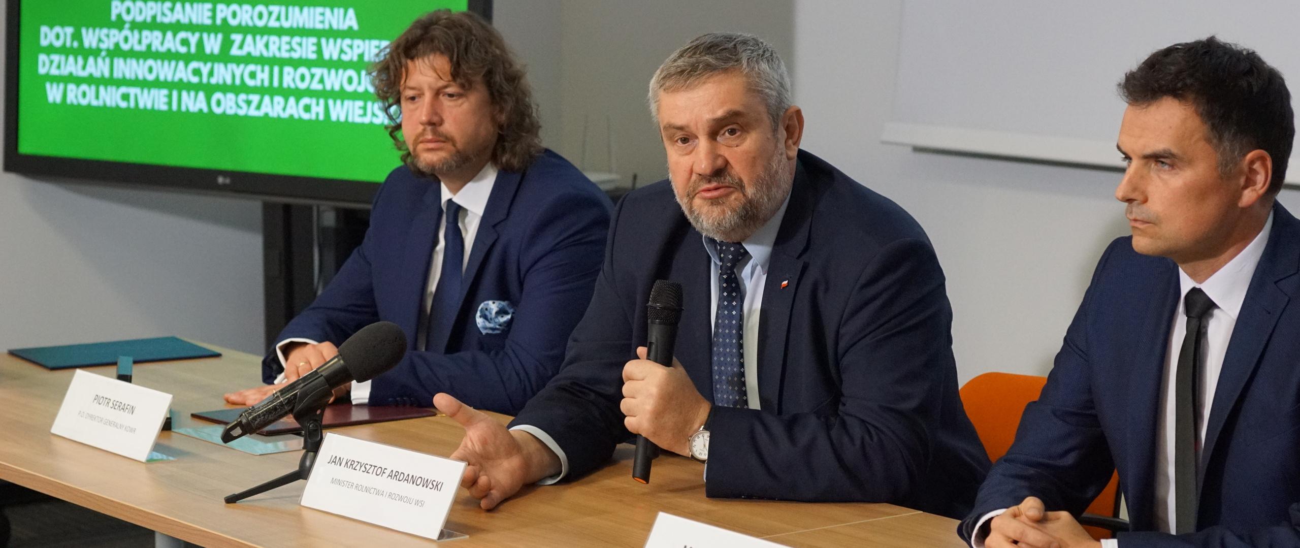 Innowacje dla rolnictwa - porozumienie KOWR i NCBR