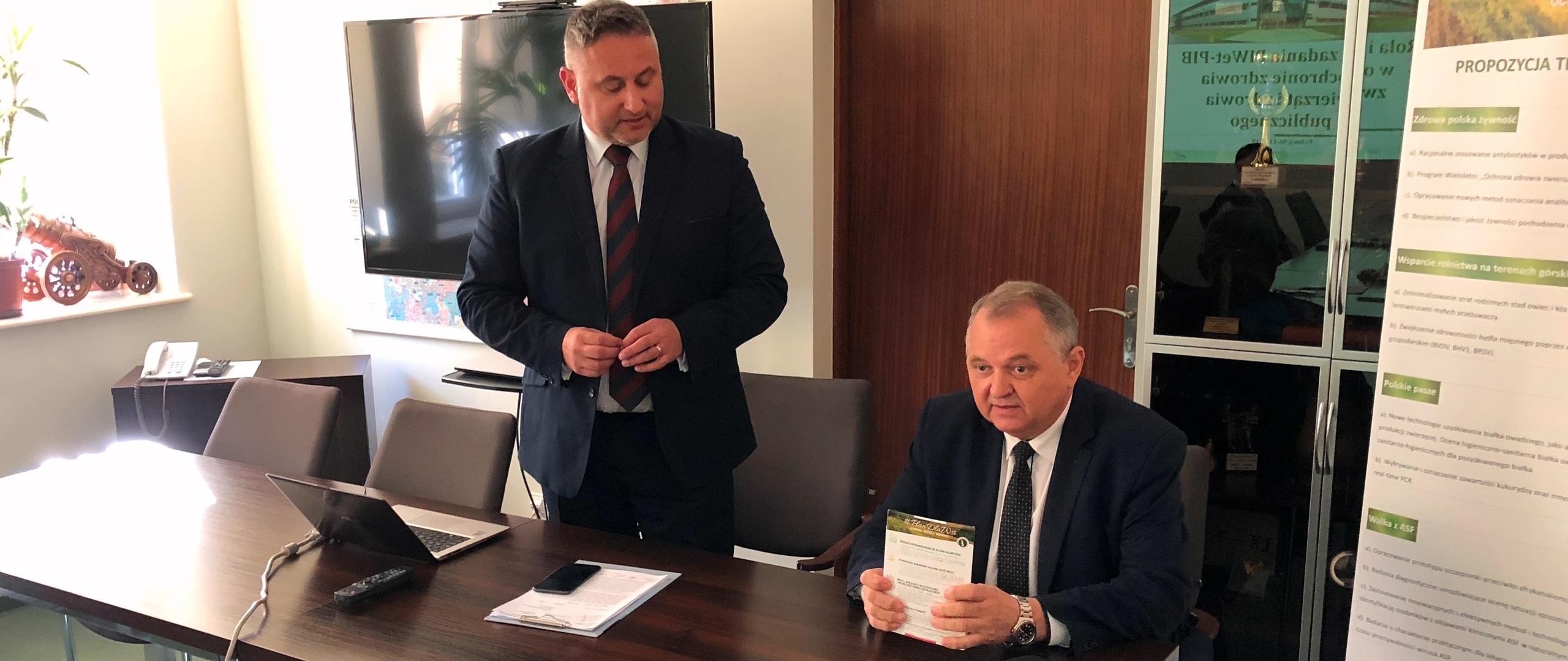 Spotkanie w PIWet-PIB w Puławach