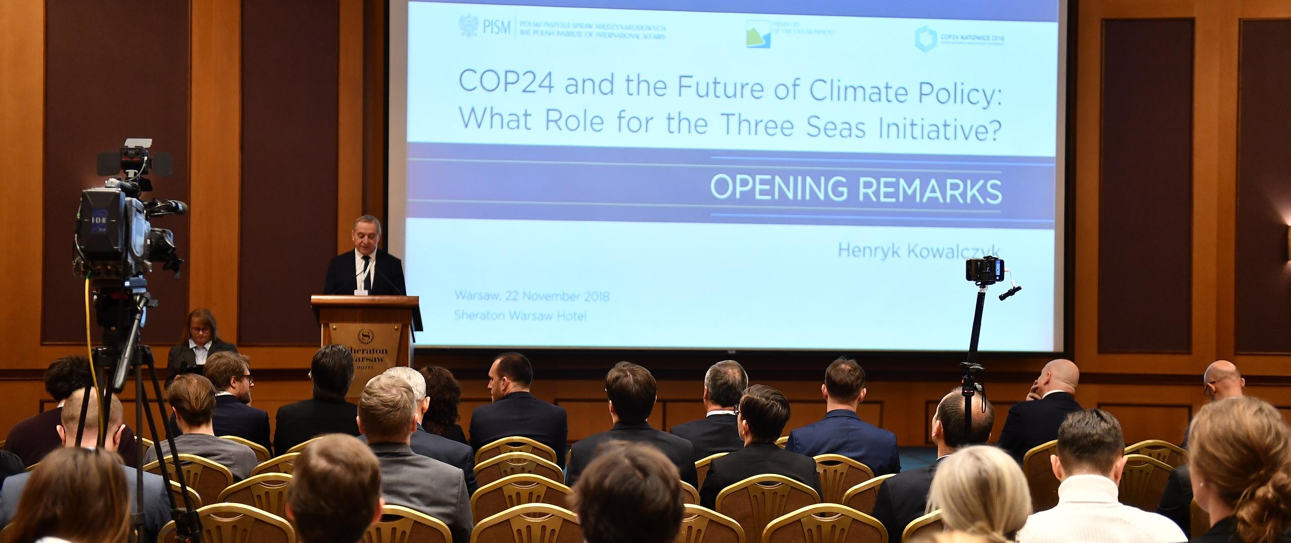 Ministrowie środowiska o roli państw Trójmorza w kreowaniu polityki klimatycznej