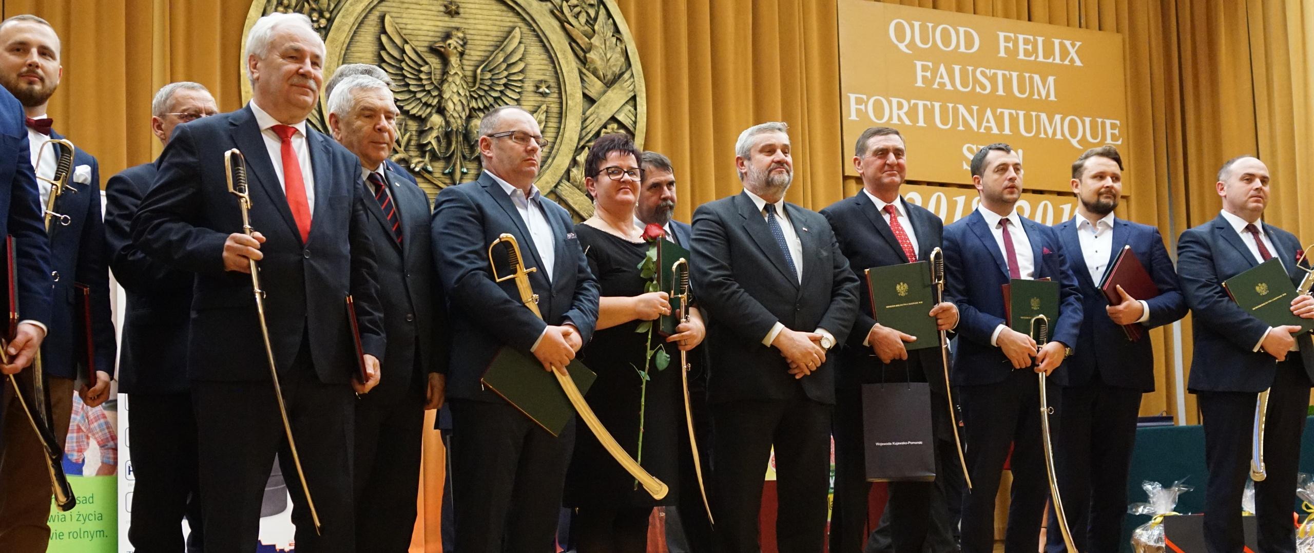 Minister wśród laureatów
