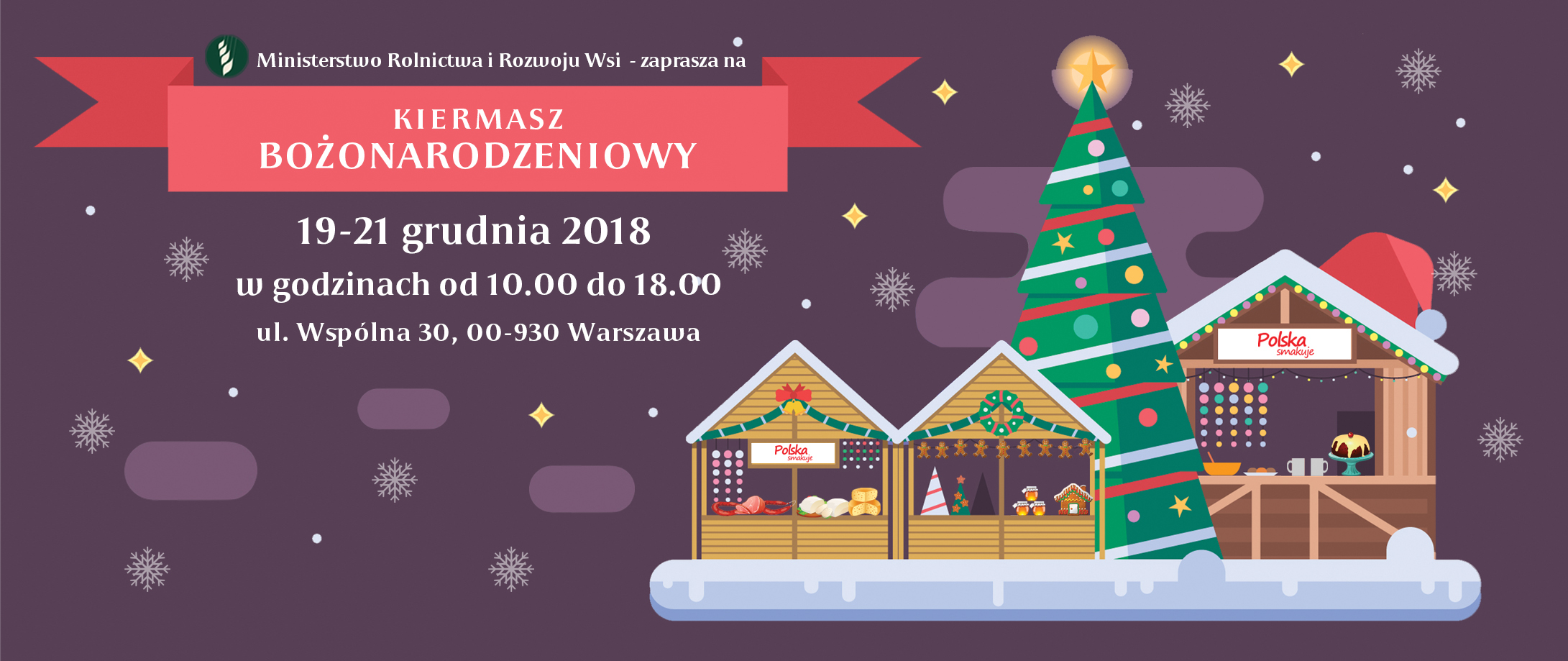 V Kiermasz Świąteczny ,,Polska Smakuje''