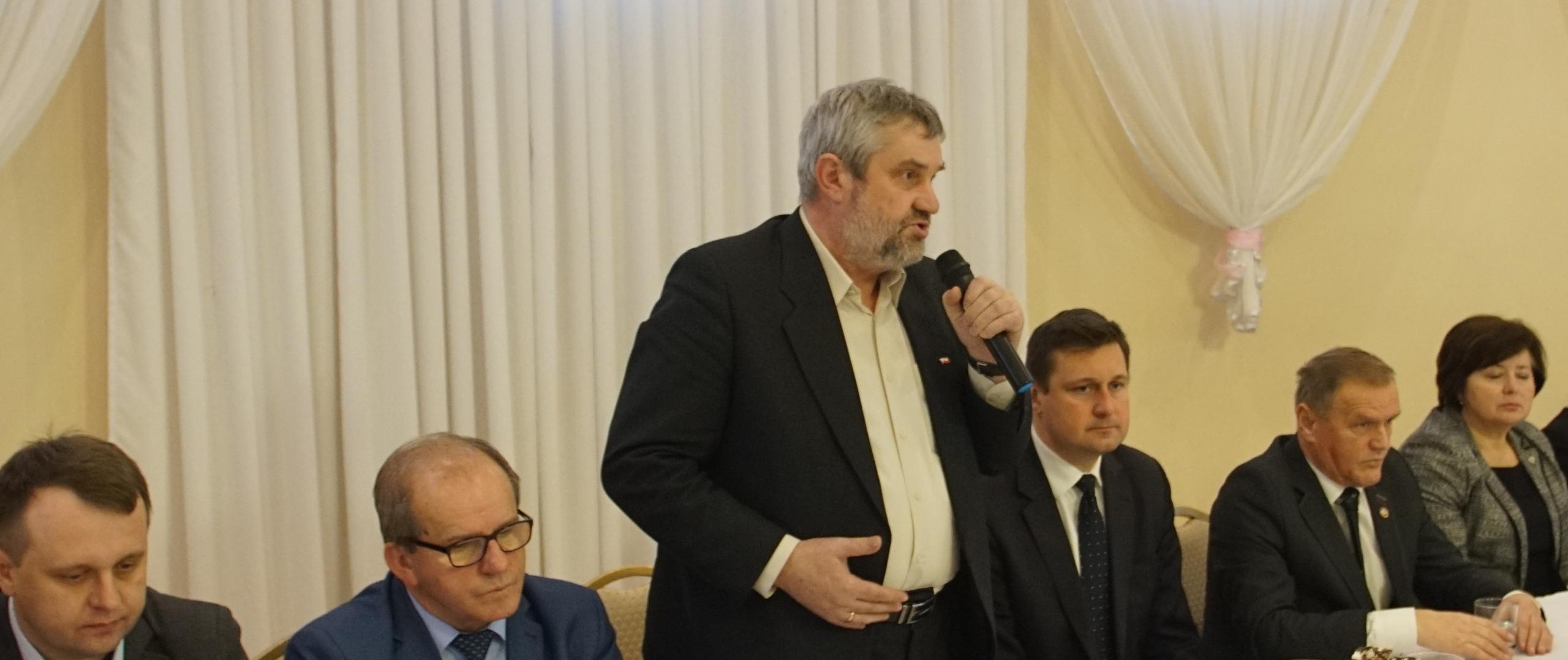 Minister J.K. Ardanowski podczas spotkania z rolnikami w Lubieniu Kujawskim