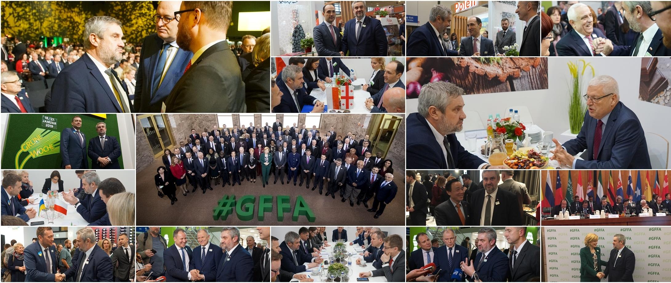 Międzynarodowe spotkania w Berlinie