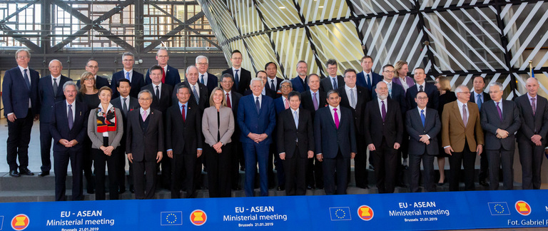 Minister Jacek Czaputowicz attends Foreign Affairs Council and EU-ASEAN ministerial in Brussels