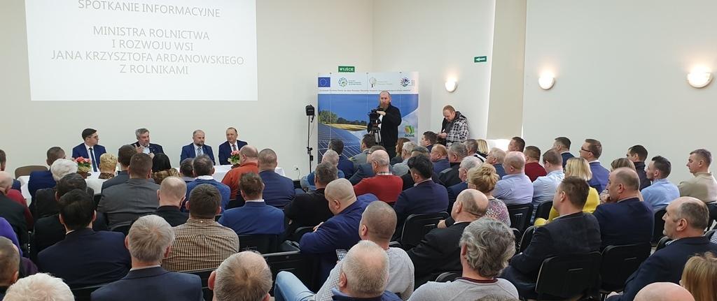 Rozmowy z rolnikami w Świdnicy