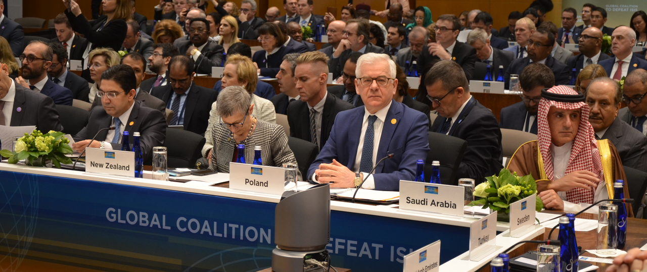 Meeting of the Global Coalition to Defeat ISIS