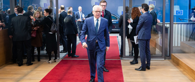Minister Jacek Czaputowicz at Foreign Affairs Council meeting