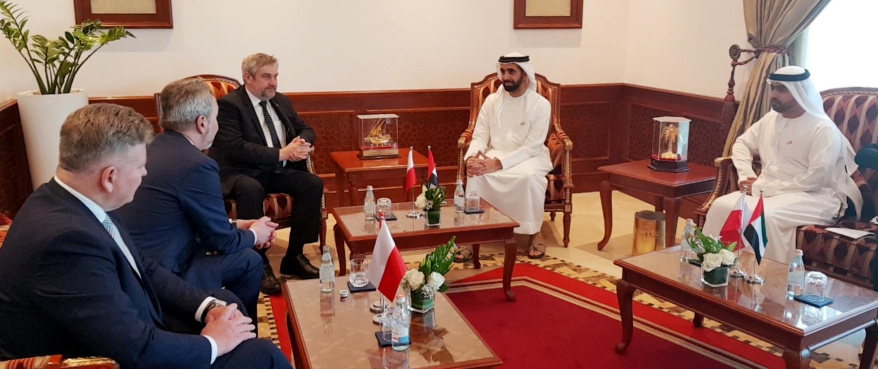 Zjednoczone Emiraty Arabskie – II dzień wizyty