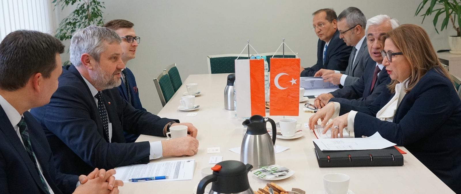Polsko-tureckie rozmowy o współpracy