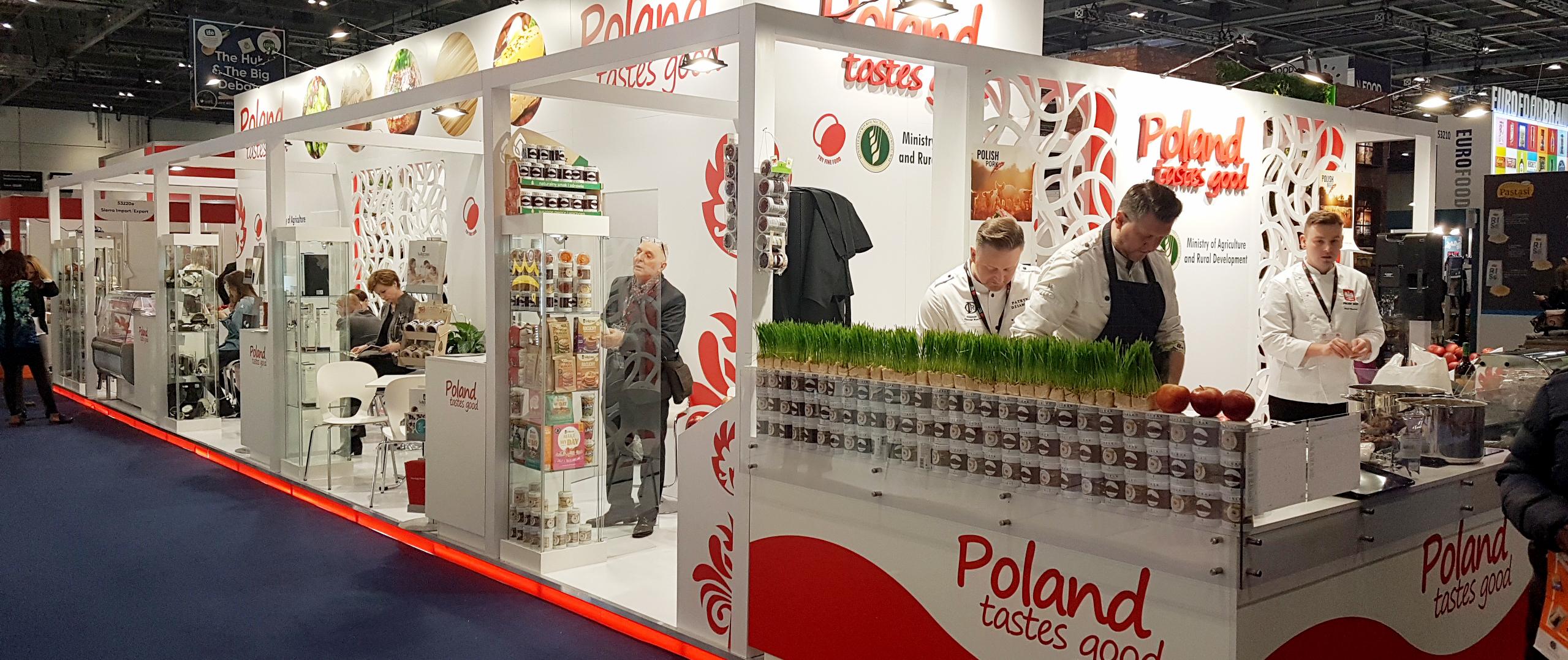Polska żywność na targach IFE w Londynie