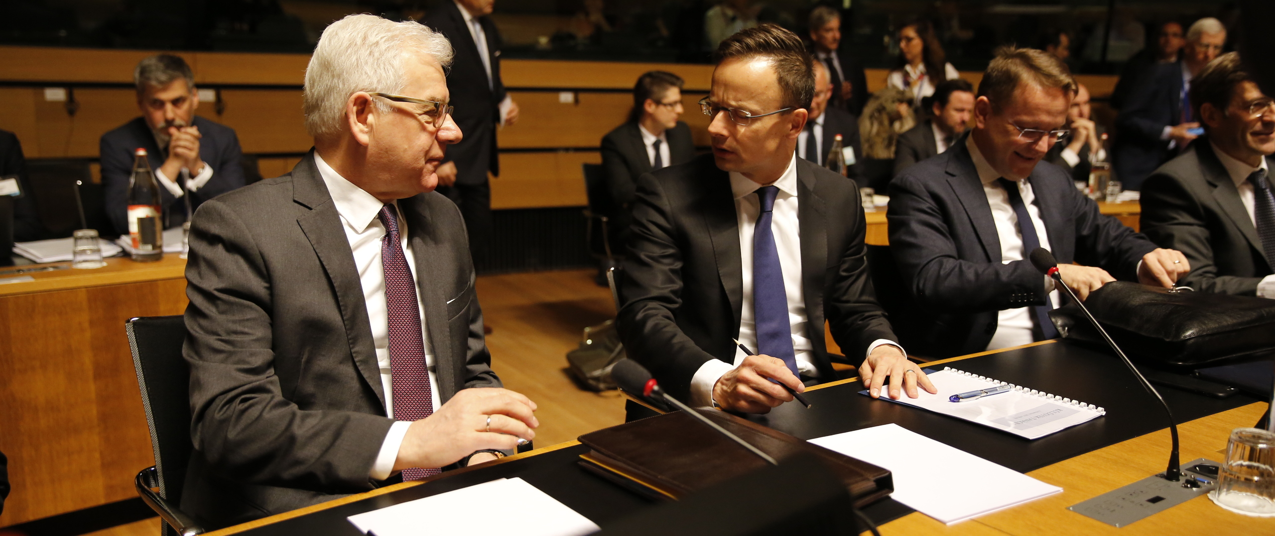 Minister Jacek Czaputowicz attends Foreign Affairs Council