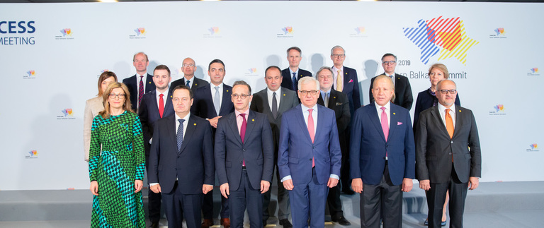 Foreign ministers of the Berlin Process met in Warsaw to discuss bilateral issues and the situation of young people